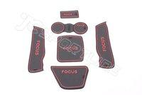 Коврик для приборной панели авто Latex Gate Slot Pad Car Door Mat Cup Mat/Pad Car Mats for Ford Focus 2009-2011