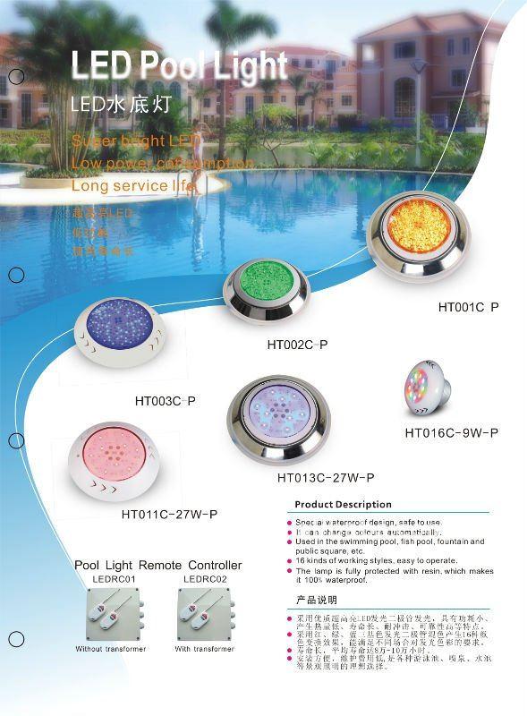 IP68 Underwater LED Swimming Pool Light