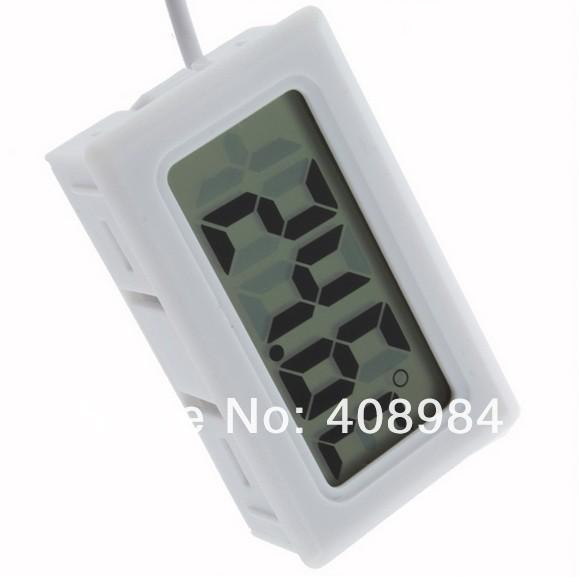 משלוח חינם מדחום דיגיטלי לחות במקרר טמפרטורה מד לחות