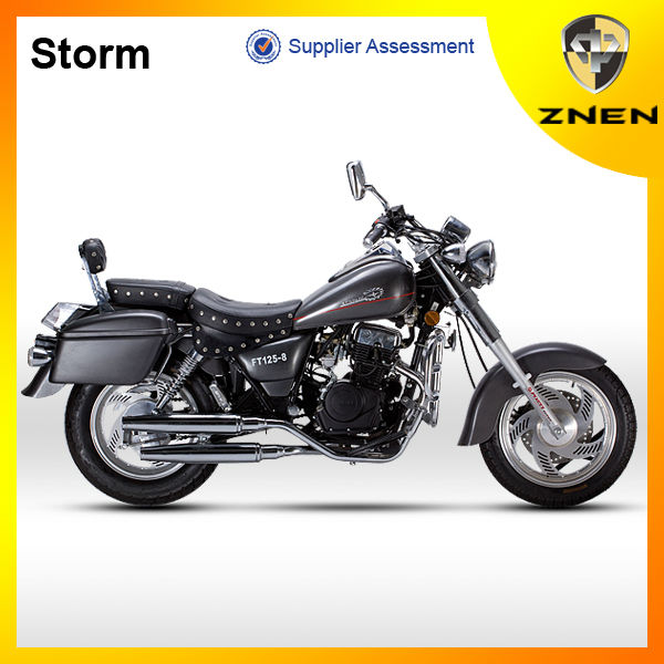 China 2015 new version ZNEN Motor Storm 125cc 150cc 200cc chopper motorcycle racing motor street bike EEC GuangDong Version