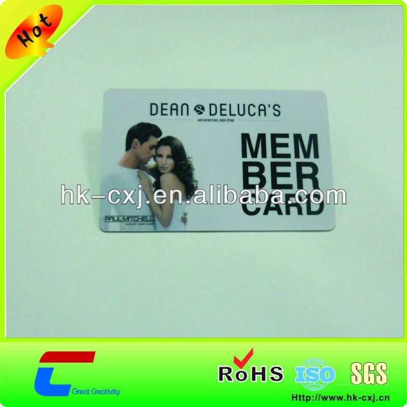 4C printing waterproof hard plastic card case