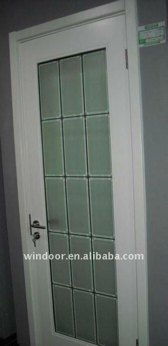 Aluminium alloy frosted glass bathroom door buy frosted for Aluminium bathroom door designs