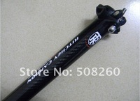 superlogic Seatpost Carbon bicycle mtb Seatpost 27.2/31.6*400MM   Free shipping
