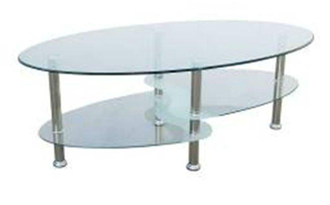 Eurpean style ovale table basse en verre table basse id de - Table basse qui se transforme en table haute ...