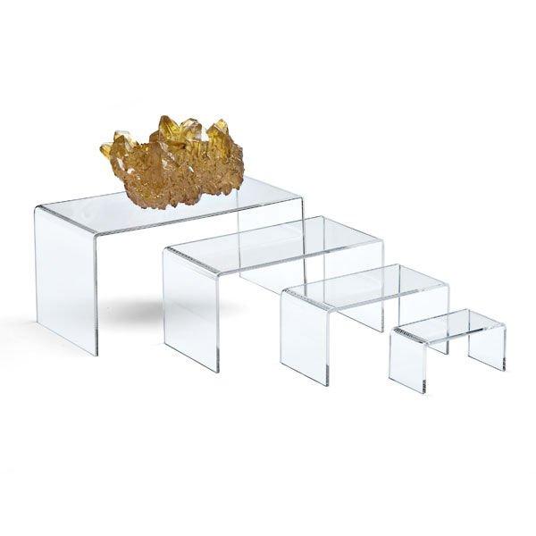 Clear acrylic desktop organizer or clear desk accessories - Acrylic desk organizer ...