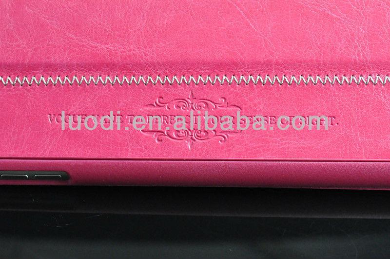 wholesale Popular pu flip case for ipad mini