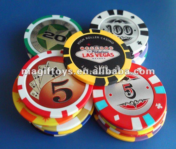 Printing Casino Chip/Ceramic Poker Chip/Round Clay Plastic Casino Chips