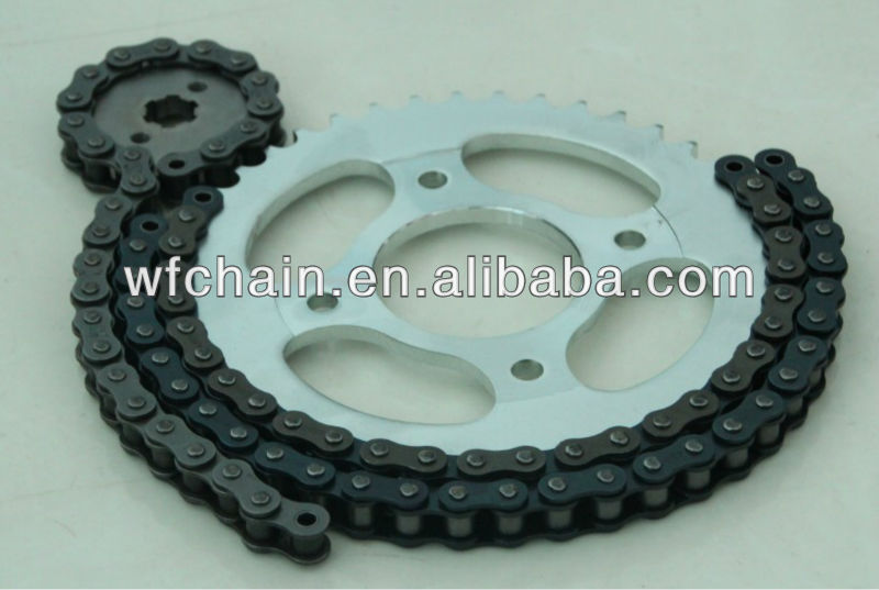 Motorcycle chain CG used /motorcycle parts china supplier
