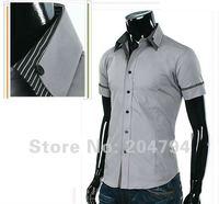 Мужская классическая рубашка D22 : ,  : XS, S, M, l
