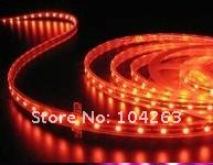 Free Shipping SMD 3528 Waterproof 150pcs /5m LEDs 30pcs /meter Flexible Led Strip Green ights,2.4w IP65  12v Led Strips