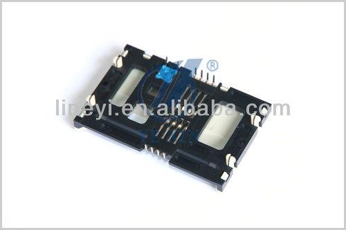 DIP Type Smart Card Reader Connector