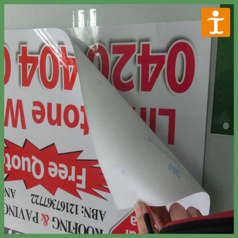 Tj publicitaire amovible autocollants en vinyle auto for Collant mural canada