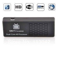 MK808  Android Mini TV Rockchip RK3066 1.6GHz Dual Core 1GB RAM 8GB ROM WiFi HDMI Free Shipping