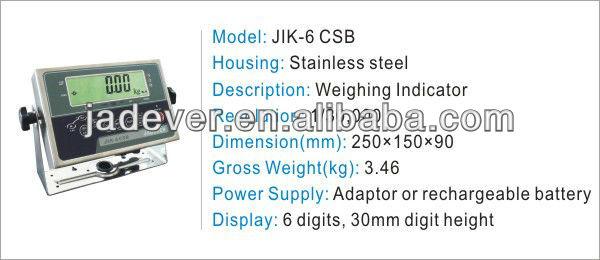 JIK-6 CSB Weighing Indicator