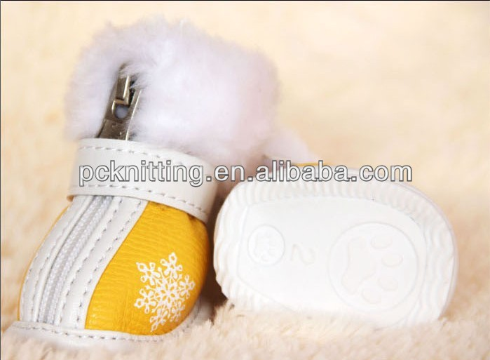 Free Shipping Wholesale Fashion Yellow&Green Pet Shoes For Cats Dogs Waterproof Pet Products Dog Shoes
