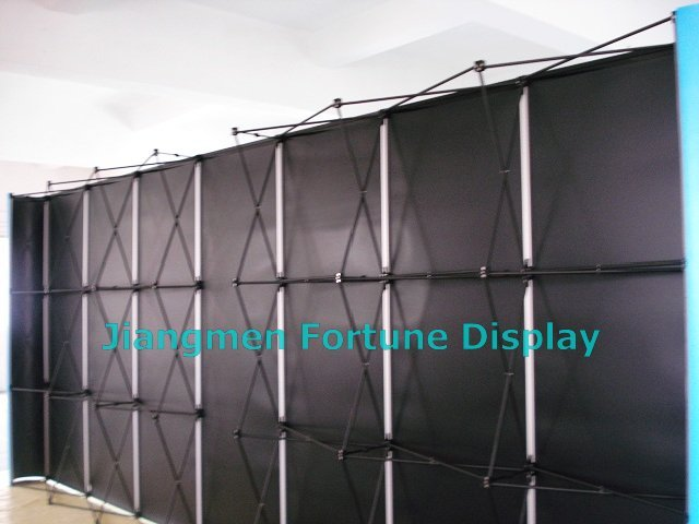 Show Booth, Full Magnetic Exhibition Pop Up Stand, Portable Display.