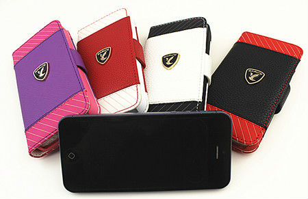 PU Leather cover Case for Iphone5,custom iphone case