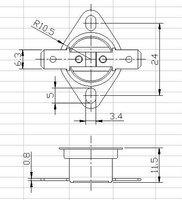 Комплектующие для бытовой техники LB/OEM 250 10 KSD301