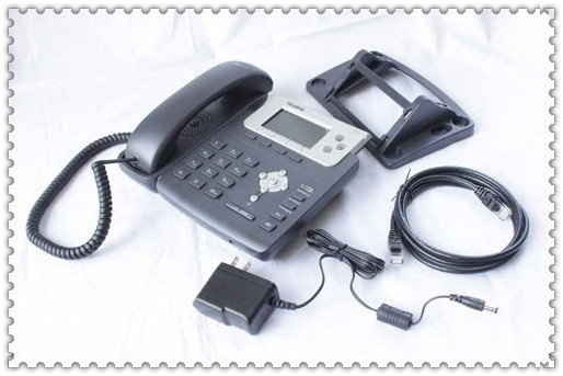 Best Price! Yealink T22P-Standard Office VOIP Phone, Large LCD Screen, 3 SIP Lines, POE IP phone