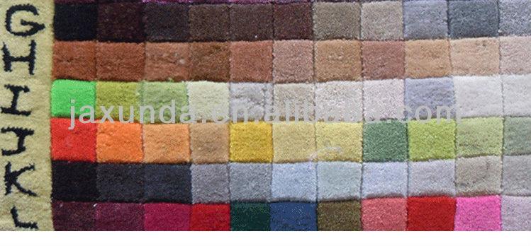 Main 100% tapis acrylique
