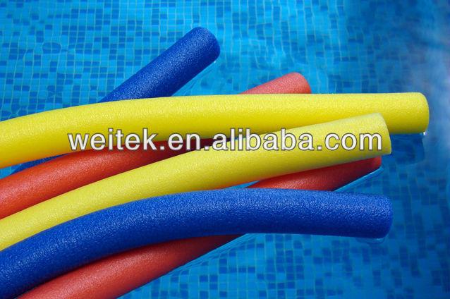 Foam Floating Pool Noodles White Foam Swimming Noodles Soft Pool Noodle For Swim View Foam