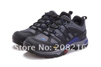 Мужская обувь для туризма 2012 Men fashion hiking shoes, mountaineering shoe, breathable, outdoor sport sneakers, walking footwear, rubber sole, 40-45, ship