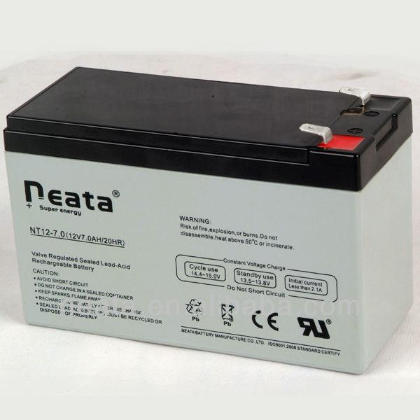 Storage Battery/rechargable battery12v 12v 7.0ah