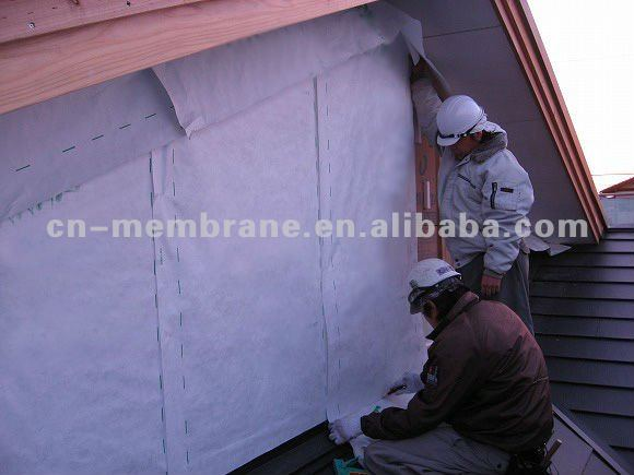 breathable housewrap membrane