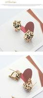 Серьги-гвоздики Italina 18K Swarovski Crystal Stellux #RA21506