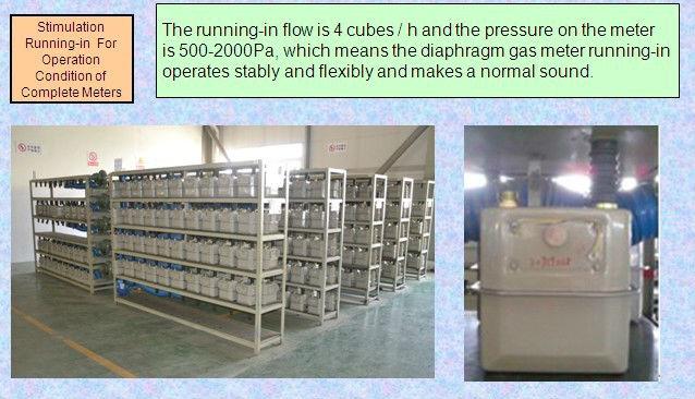 Domestic mechanical diaphragm gas meter(G1.6/2.5/4)