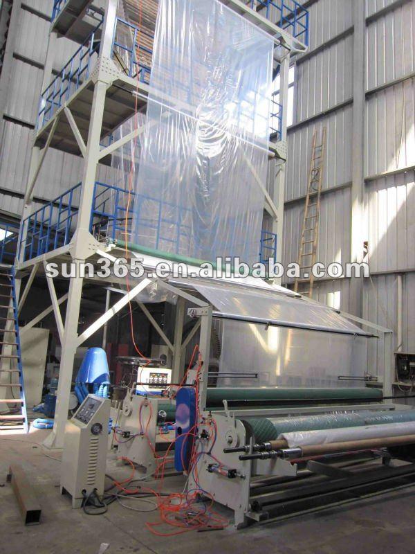 flexible plastic film making machinery