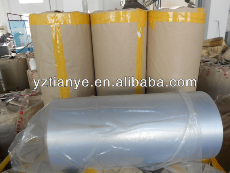 PVC red colour plastic roll sheet for manufacturer
