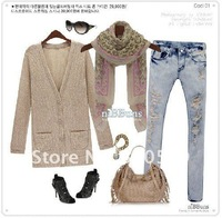 Женский шарф GG013 1pc Korean fashion Animal Leopard Prints Shawl, long style, elegant silk scarf shawl