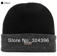 Free shipping Thinsulate wool beanies, knitted hat winter thermal hat, solid color double layer yarn cap HC201301