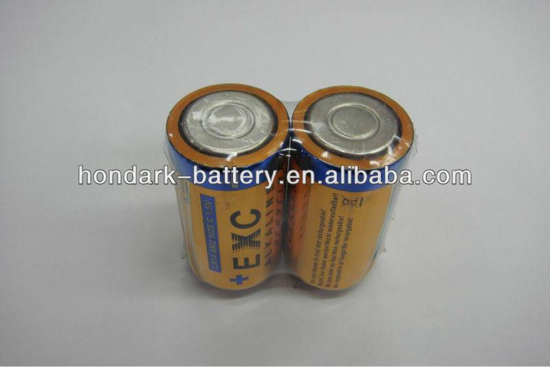 Alkaline C size /LR14/AM2 1.5V dry battery ,UL/CE/UN38.3