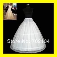 Free shipping GOOD price and quality ! mermaid petticoat 2 hoops white wedding dress crinolinedress