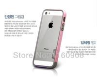 Чехол для для мобильных телефонов 1PCS ZENUS Walnutt For iPhone 5 Dual-Layer[TRIO]Slim Protective Bumper Case For iphone 4 4s 5 5s