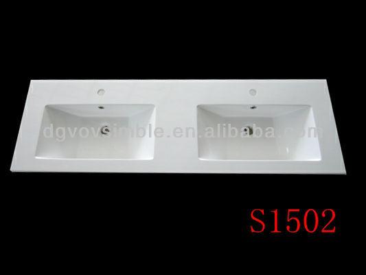 아름다운 디자인 인공 석재 세면대/ 세면대 세면대/ 고체 표면 ...