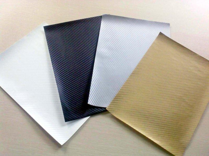 Fiber de carbone autocollant mat riaux d 39 affiche id de for Papier imprimante autocollant exterieur