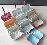 Бокс для хранения Retail New Lovely Girl Secret Tin Storage Box/Pura Girl Small Storage Case 1pack/lot