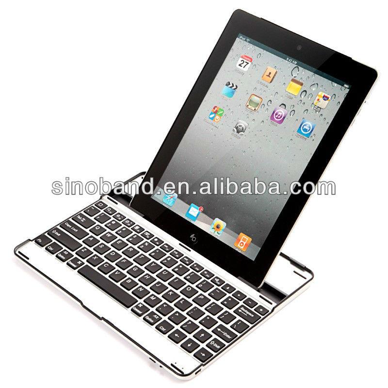 Durable aluminum bluetooth keyboard for ipad