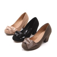 Туфли на высоком каблуке 2012 sexy springtime fashion women Kitten heel shoes factory career shoes platform flowers shoes Q665