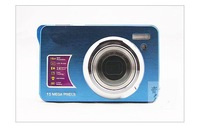 """BULE Digital video camera Winait's MAX.15MP 2.7"""" TFT LCD MINI camera  DC-530A  with 3X optical zoom + 32G SD Card Free Shipping"""