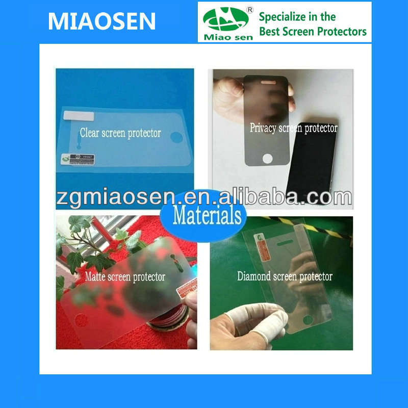 Factory Price High Quality for samsung galaxy young s3610 screen protector