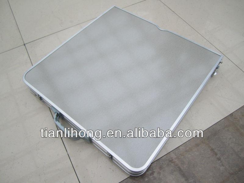 رخيصة طاولة قابلة للطي التخييم مع حقيبة حمل