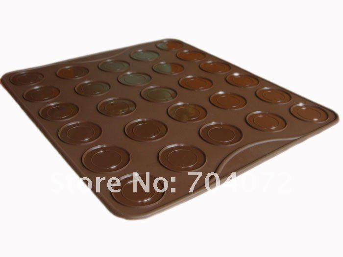wholesale- 50pcs 2012NEW! Small size For Baking at Home Oven applicable11.5in10in Macaron silikon matta Silicone Mat (1).JPG