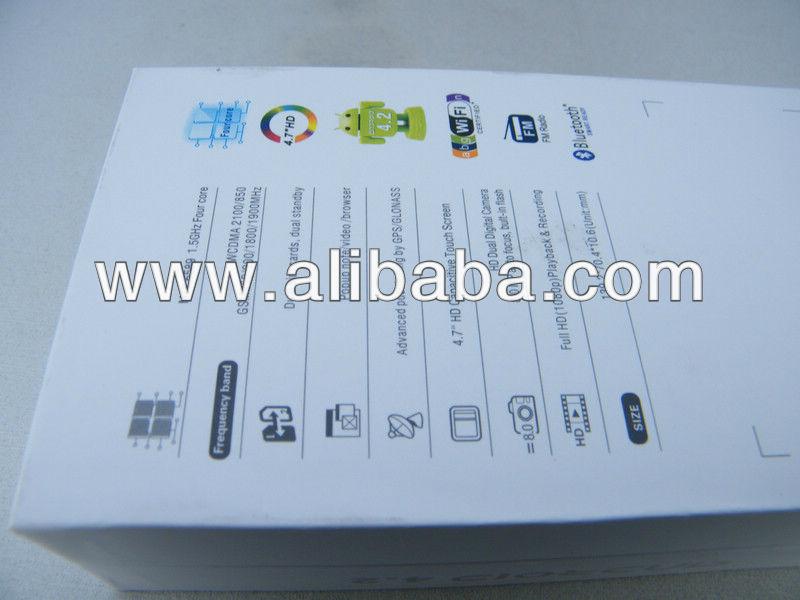 "4.7"" Flying F600 MTK6589 Quad Core 3G GPS Smart Mobile Phone"