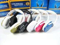 Наушники HI-FI Stereo Headphone Sports MP3 player PC Headset - FM MIC - TF card reader - 6 pcs per lot