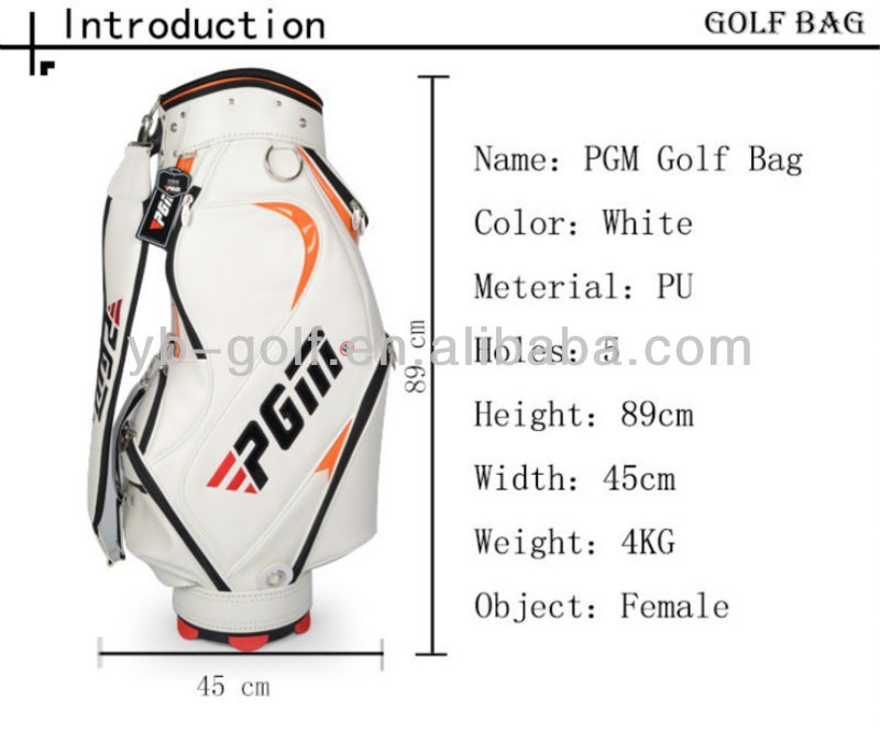 PGM China Export Golf Clubs Ball Bag for 13 Woods