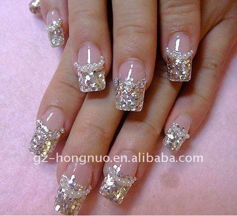 80 color brillo de uñas de acrílico en polvo paillette cequi - hn520